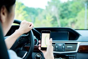 Distracted Driver using Cell