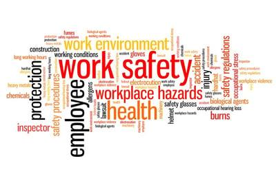 Work Safety words-494507173